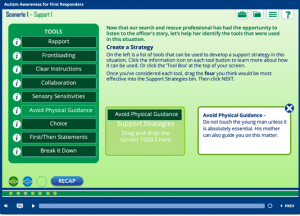 Screenshot of the Canucks Autism Network Course