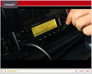 Screenshot of CREST course