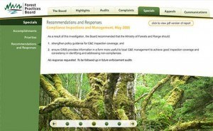 Forest Practices Board – Annual eReport