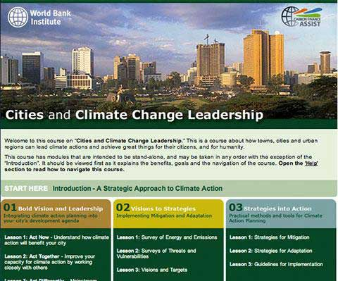 World Bank Institute – Cities and Climate Change Leadership
