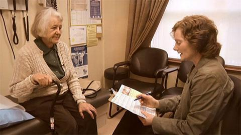 BC Falls Prevention Education Collaborative – Primary Care Falls Prevention Video and Brochures
