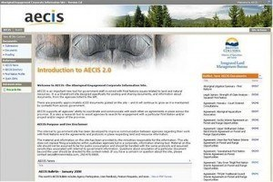 BC Ministry of Agriculture and Lands – AECIS – Engagement Corporate Information Site