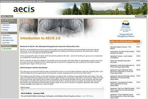 AECIS – Aboriginal Engagement Corporate Information System