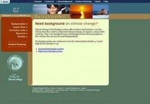 Yukon Conservation Society – Climate Change North Web Resource