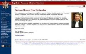 BC Legislative Assembly – BC Legislative Assembly Website