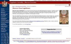 BC Legislative Assembly – BC Legislative Assembly Website