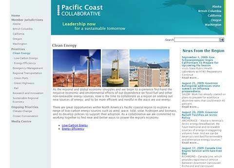 Pacific Coast Collaborative – Pacific Coast Collaborative Website