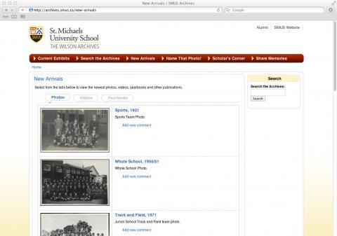 St. Michaels University School – The Wilson Archives