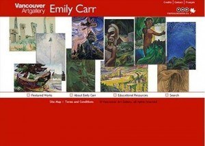 Vancouver Art Gallery, Emily Carr Museum – Multimedia Navigational Tool